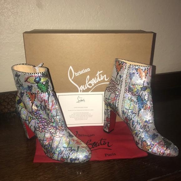 862c4903ee32 Christian Louboutin Shoes - Christian Louboutin Moulamax booties